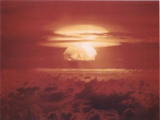 Die Castle-Bravo-Explosion. 15 Megatonnen.
