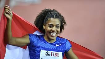 Die Hoffnung der Schweizer Leichtathletikszene: Sprinterin Mujinga Kambundji rückt immer näher an die absoluten Weltspitze heran.