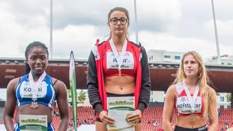 «Ein unbeschreibliches Gefühl»: Die Wohlerin Alev Acar triumphiert am UBS Kids Cup.