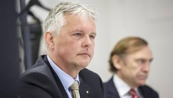Pressekonferenz zur Unternehmenssteuerreform: Marcel Gehrig