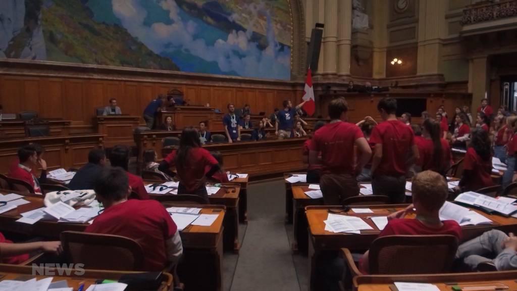 Jugendsession im Parlament im Zeichen des Klimawandels?