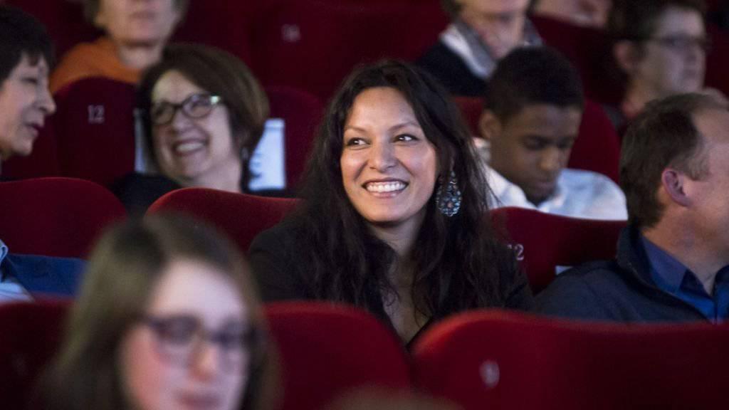 Freut sich über die Auszeichnung: Die Berner Filmemacherin Yangzom Brauen am Freiburger Filmfestival.