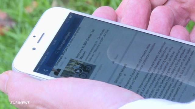 Mörgelis Facebook Profil wieder online