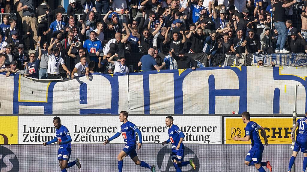 Luzern gewinnt erstmals, auch Basel mit Heimsieg