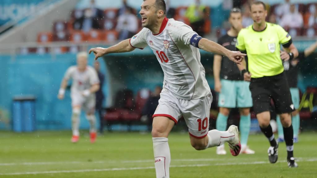 Goran Pandev beendet am Montag mit dem Spiel gegen die Niederlande seine Nationalmannschaftskarriere