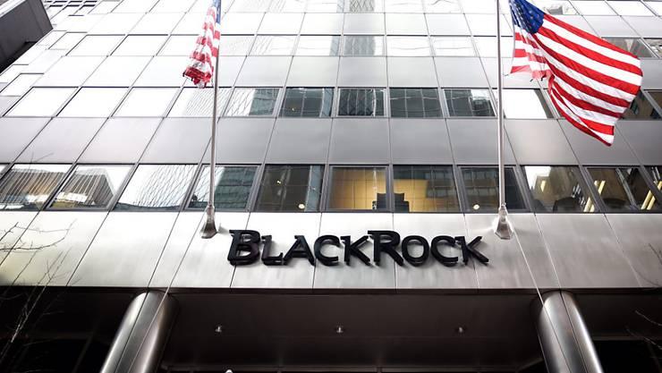 Blackrock hat trotz Milliardenzuflüssen im zweiten Quartal weniger verdient. (Archiv)