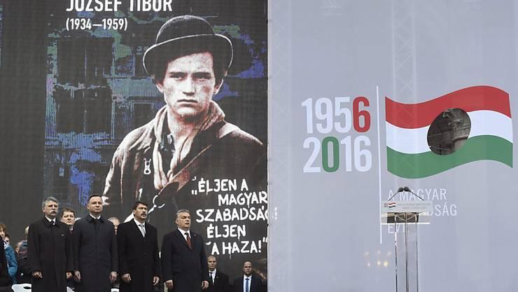 Erinnerung an den Volksaufstand vor 60 Jahren: Eine Äusserung des russischen Botschafters sorgt in Ungarn für Verstimmung. (Symbolbild)
