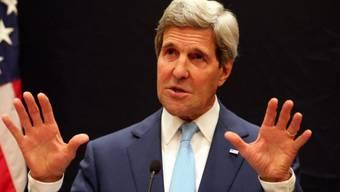 US-Aussenminister John Kerry in Kairo