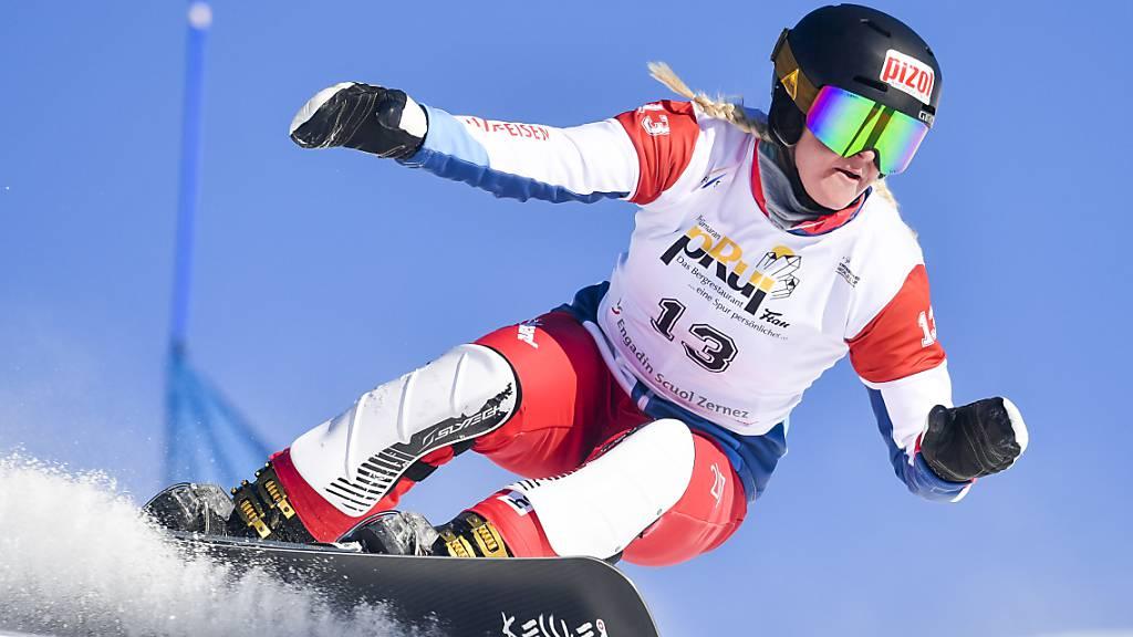 Julie Zogg sicherte sich mit Dario Caviezel im Teamwettkampf in Bad Gastein Platz 3