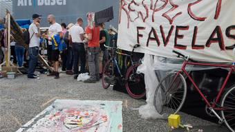 Die Regierung verabscheut die Favela-Gewalttäter.