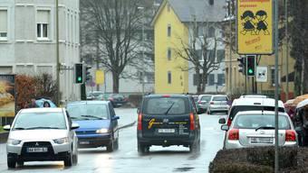 Die Umfahrung Allschwil soll unter anderem die Binningerstrasse vom Durchgangsverkehr entlasten.