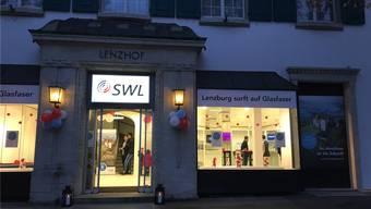 Der SWL-Showroom im Lenzhof.