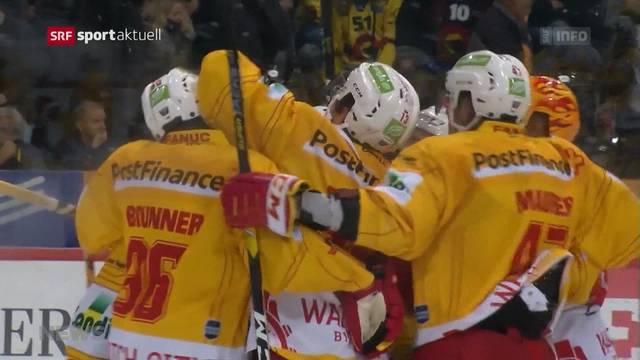 5:2-Sieg für EHC Biel im Spitzenkampf gegen den SC Bern