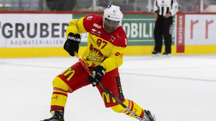 Ist wie Visp in der Swiss League nahezu fehl am Platz: Auguste Impose überstrahlt die Liga.