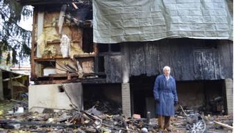 Brand in Schöftland: Besitzer Peter Suter kann das Unglück immer noch nicht fassen