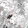 Dieser Ausschnitt aus der Richtplan-Karte des Kantons zeigt rot gepunktet die Nordumfahrung um Gerlafingen und Biberist.