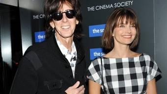 Als Zweirad sind sie nicht mehr fahrtüchtig: US-Sänger Ric Ocasek und seine Ehefrau, Ex-Model Paulina Porizkova, haben sich getrennt. (Archivbild)
