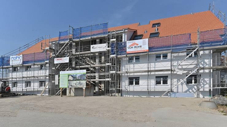 Das siebenjährige Projekt nähert sich seinem Ende: Im August sind die zwölf Wohnungen bezugsbereit.