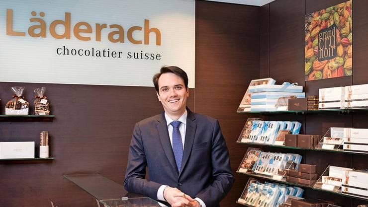Firmenchef Johannes Läderach: Die Swiss hat Angst vor negativen Reaktionen, wenn sie weiterhin seine Pralinen verteilt.