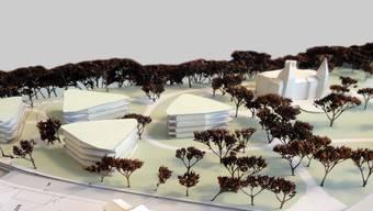 Die Überbauung im Schlosspark kann vorerst nicht gebaut werden.