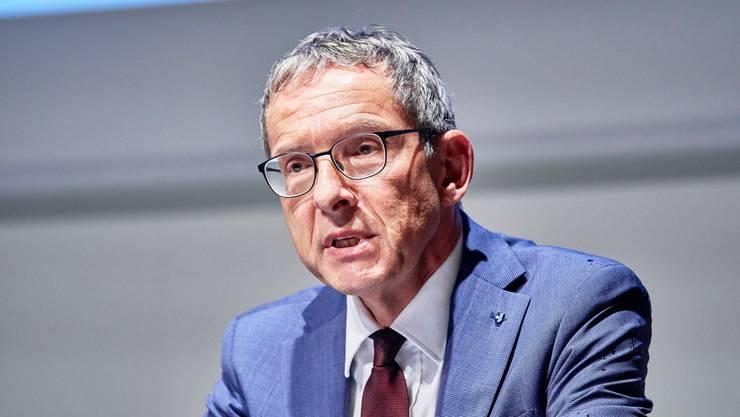 Der Aargauer Volkswirtschaftsdirektor Urs Hofmann.
