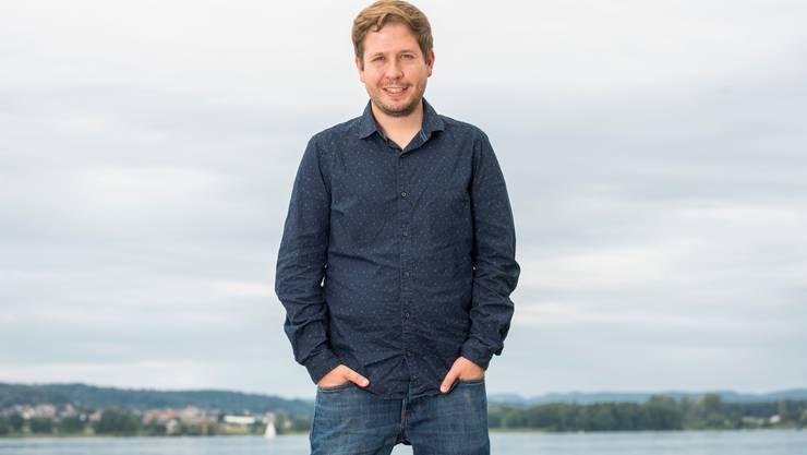 «Die politische Mitte ist verschiebbar» sagt der deutsche Jusos-Chef und Polit-Star Kevin Kühnert, 30, am Hallwilersee.