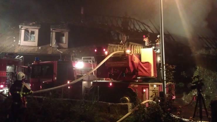 Umgebautes Bauernhaus bei Brand stark beschädigt (4)