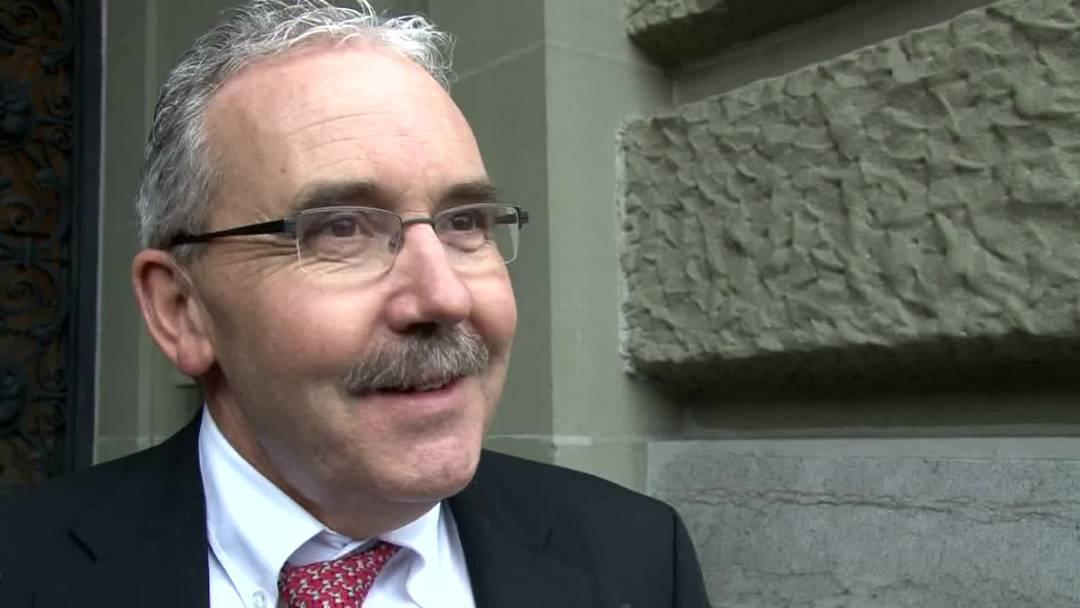 BDP-Partipräsident Hans Grunder ist froh, nicht mehr in der SVP zu sein