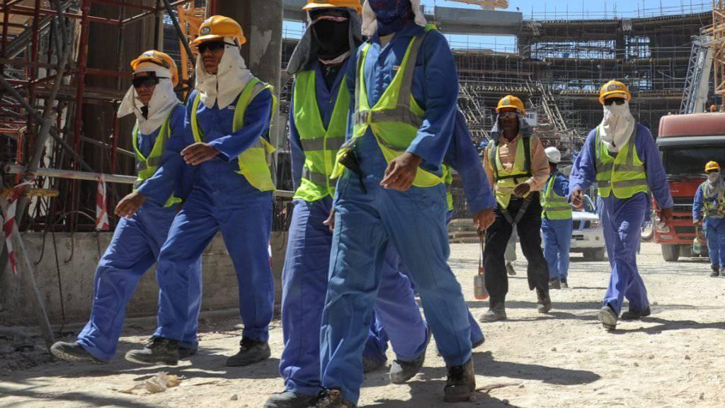 Uno sieht Fortschritte bei Arbeiterrechten in Katar