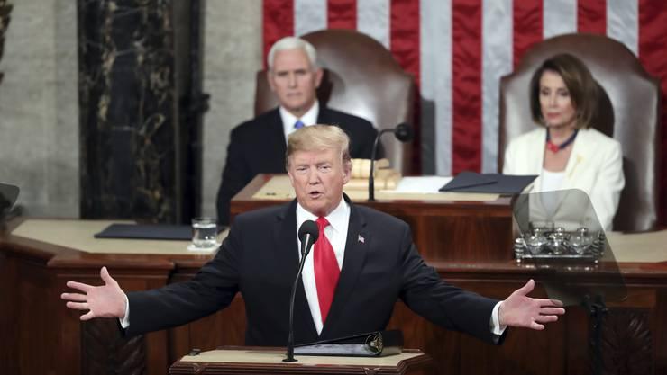 Der Prozess gegen Präsident Donald Trump wird um fünf Tage verlängert.