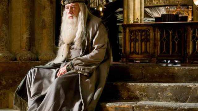 "Michael Gambon als Albus Dumbledore in  ""Harry Potter"" (Archiv)"