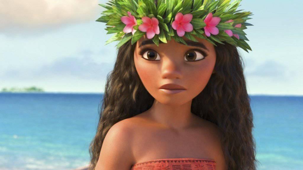 """Der Animationsfilm """"Moana"""" hat am Wochenende vom 9. bis 11. Dezember 2016 am meisten Menschen in die US-Kinos gelockt (Archiv)"""