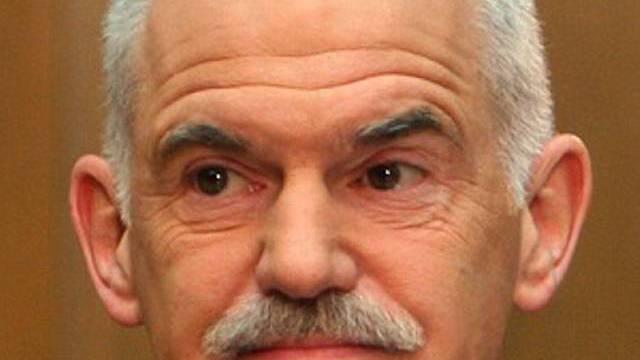 Griechischer Ministerpräsident Papandreou (Archiv)