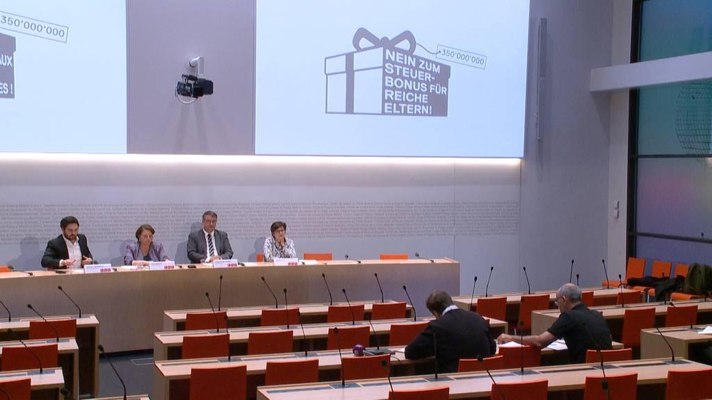 """""""Steuerbonus für reiche Eltern"""": SP lanciert ein Referendum"""