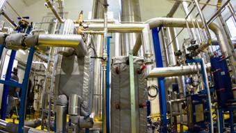 CO2-Rückgewinnungsanlage der Asco im thurgauischen Sulgen.