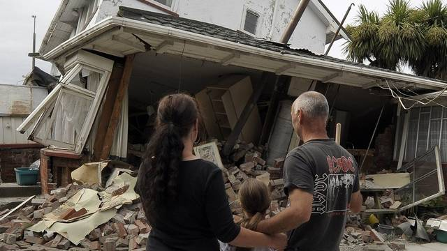 Unzählige Häuser wurden durch das Erdbeben zerstört