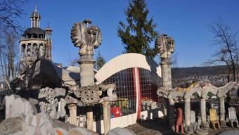 Bruno Weber Park öffnet wieder im April 2015