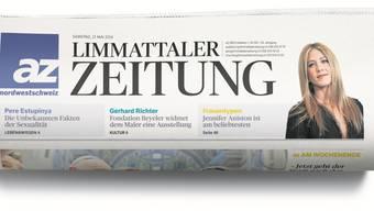 So kommt die «Limmattaler Zeitung» neu daher.