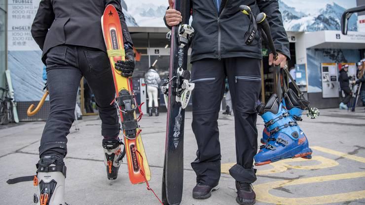 Die Skigebiete befanden sich in einer ungewissen Rechtslage.