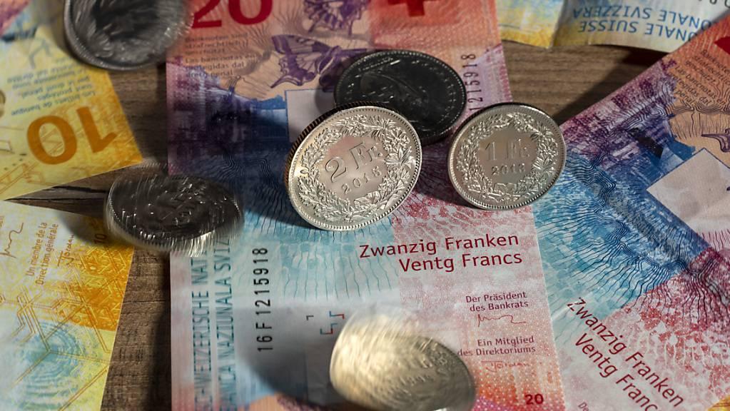 Die Krisenstimmung sorgt an der Schweizer Börse für Aufruhr: Der SMI befindet sich auf dem tiefsten Stand seit Mai dieses Jahres. (Archivbild)