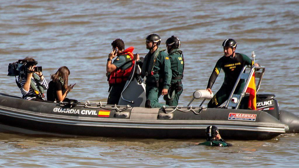 Nach den Unwettern auf Mallorca suchen Rettungskräfte im Osten der Insel im Meer nach Vermissten. (Archiv)