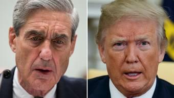Trumps Albtraum: Sonderermittler Robert Mueller (l.).