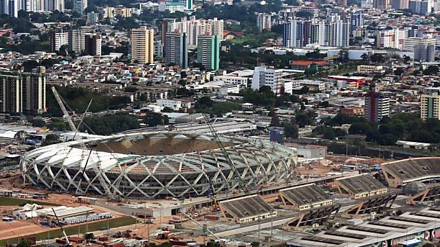 In der Arena Amazonia von Manaus trifft die Schweiz auf Honduras