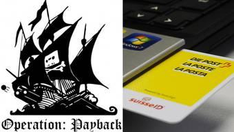 So nannten die Hacker ihren Vergeltungsschlag gegen Postfinance.