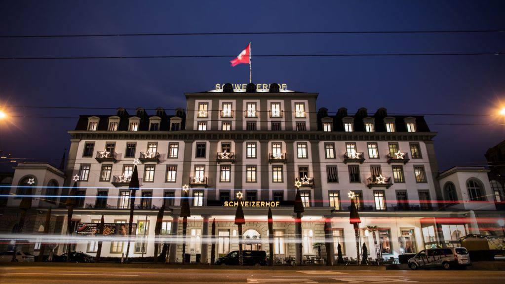 Das Hotel Schweizerhof Luzern spendet über 10'000 Schutzmasken