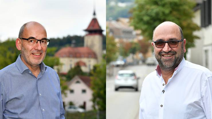 Roberto Aletti (links) lebt seit fast 25 Jahren in Niedergösgen. «Ich bin hier verwurzelt», sagt er. Andreas Meier (rechts) ist in Niedergösgen geboren und aufgewachsen: «Wir müssen offen sein für alles.»