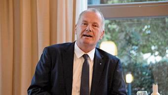 Regierungsrat Stephan Attiger verwies auf die Herausforderungen des Klimawandels.