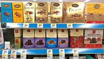 Frey-Schokolade ist neu in 1900 Walgreens-Filialen erhältlich.