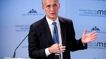 Nato-Generalsekretär Jens Stoltenberg mahnte an der Sicherheitskonferenz in München, den schwierigen Dialog mit Russland nicht zu vergessen.