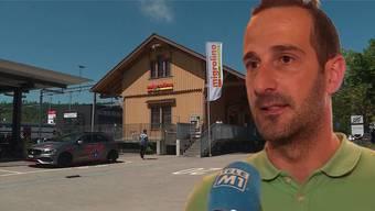 Tankstellenbetreiber Valentino Castellano will, dass Raubüberfälle härter bestraft werden.